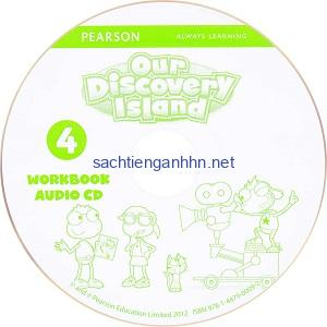 Our Discovery Island 4 Workbook Audio CD