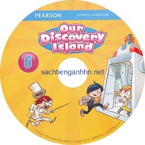 Our Discovery Island 6 Student Book Audio CD A