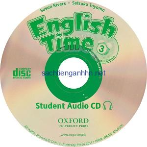 English Time 3 2nd Student Audio CD