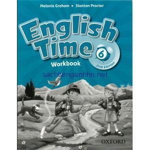 English Time 6 Workbook 2nd Edition