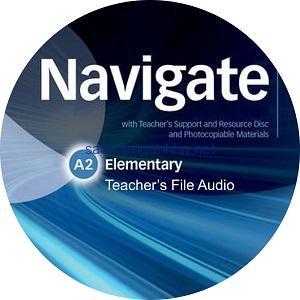 Navigate Elementary A2 Coursebook Teacher's Files Audio CD