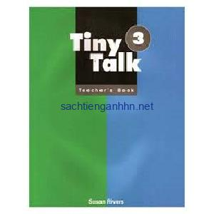 Tiny Talk 3 Teacher's Book