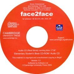 Face2face Elementary Audio CD3