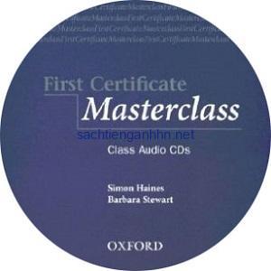 First Certificate Masterclass Class Audio CD