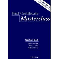 First Certificate Masterclass Teacher's Book