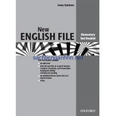 New English File Elementary Test Booklet
