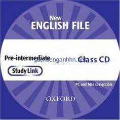 New English File Pre-Intermediate Class Audio CD 1