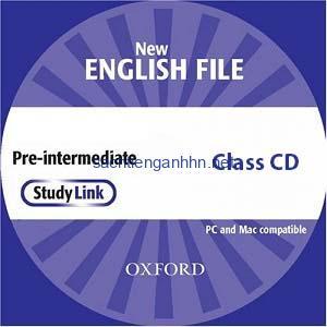 New English File Pre-Intermediate Class Audio CD 3