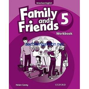 Family and Friends 5 Workbook American English