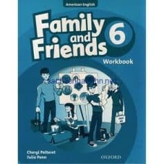 Family and Friends 6 Workbook American English