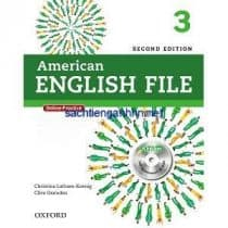American English File 2nd Edition 3 Student Book