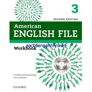 American English File 2nd Edition 3 Workbook