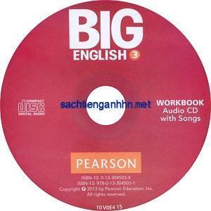 Big English 3 Workbook Audio CD