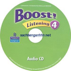 Boost! Listening 4 Audio CD