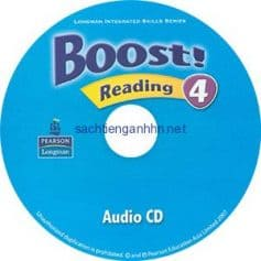 Boost! 4 Reading Audio CD