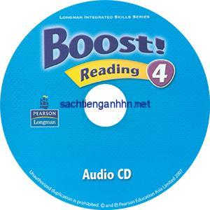 Boost! 4 Reading Audio CD