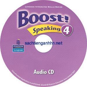 Boost! 4 Speaking Audio CD