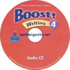 Boost! 4 Writing Audio CD