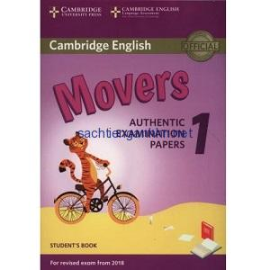 Cambridge English Movers 1 Student Book 2018