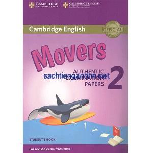 Cambridge English Movers 2 for Revised Exam from 2018