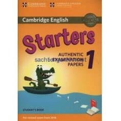 Cambridge English Starters 1 for Revised Exam from 2018