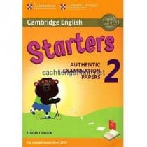 Cambridge English Starters 2 for Revised Exam from 2018