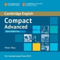 Cambridge English Compact Advanced Workbook Audio CD
