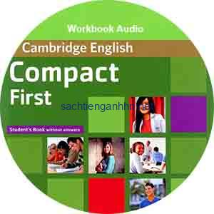 Cambridge English Compact First Workbook Audio CD