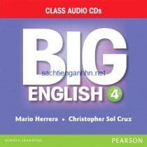 Big English (American English) 4 Class Audio CD A
