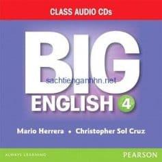 Big English (American English) 4 Class Audio CD