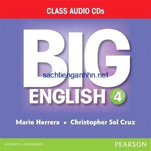 Big English (American English) 4 Class Audio CD