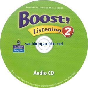 Boost! Listening 2 Audio CD