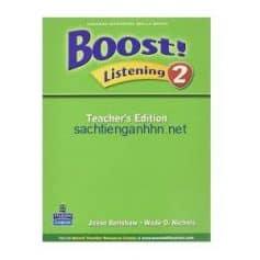 Boost! Listening 2 Teacher's Edition pdf ebook