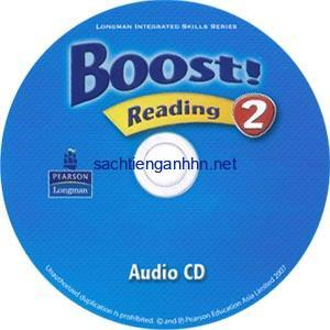 Boost! 2 Reading Audio CD