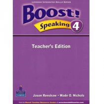 Boost! 4 Speaking Teacher's Edition
