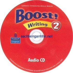 Boost! 2 Writing Audio CD