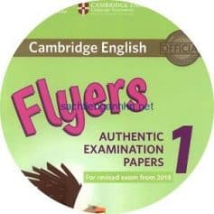 Cambridge English Flyers 1 Class Audio CD 2018