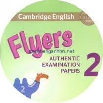 Cambridge English Flyers 2 Class Audio CD 2 2018