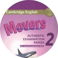 Cambridge English Movers 2 Audio CD for Revised Exam from 2018