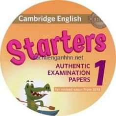 Cambridge English Starters 1 Class Audio CD 2018