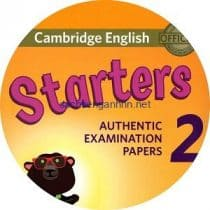 Cambridge English Starters 2 Class Audio CD 2018
