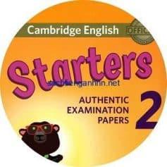 Cambridge English Starters 2 Class Audio CD 2018