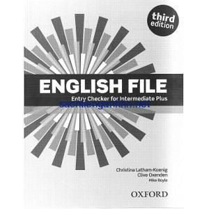 English File 3rd Edition Intermediate Plus Entry Checker
