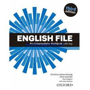 English File 3rd Edition Pre-Intermediate Workbook with key