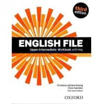 English File Upper-Intermediate Workbook 3rd Edition