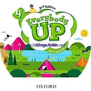 Everybody Up 4 2nd Edition Class Audio CD