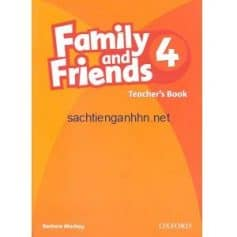 Family & Friends 4 Teacher's Book