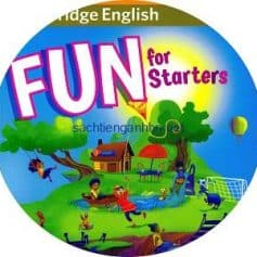 Cambridge Fun for Starters 4th Edition Audio CD