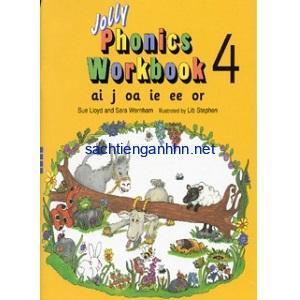 Jolly Phonics Workbook 4 ai j oa ie ee or