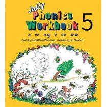 Jolly Phonics Workbook 5 z w ng v oo